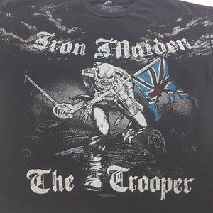 IRON MAIDEN The Trooper 2007 double sided t-shirt